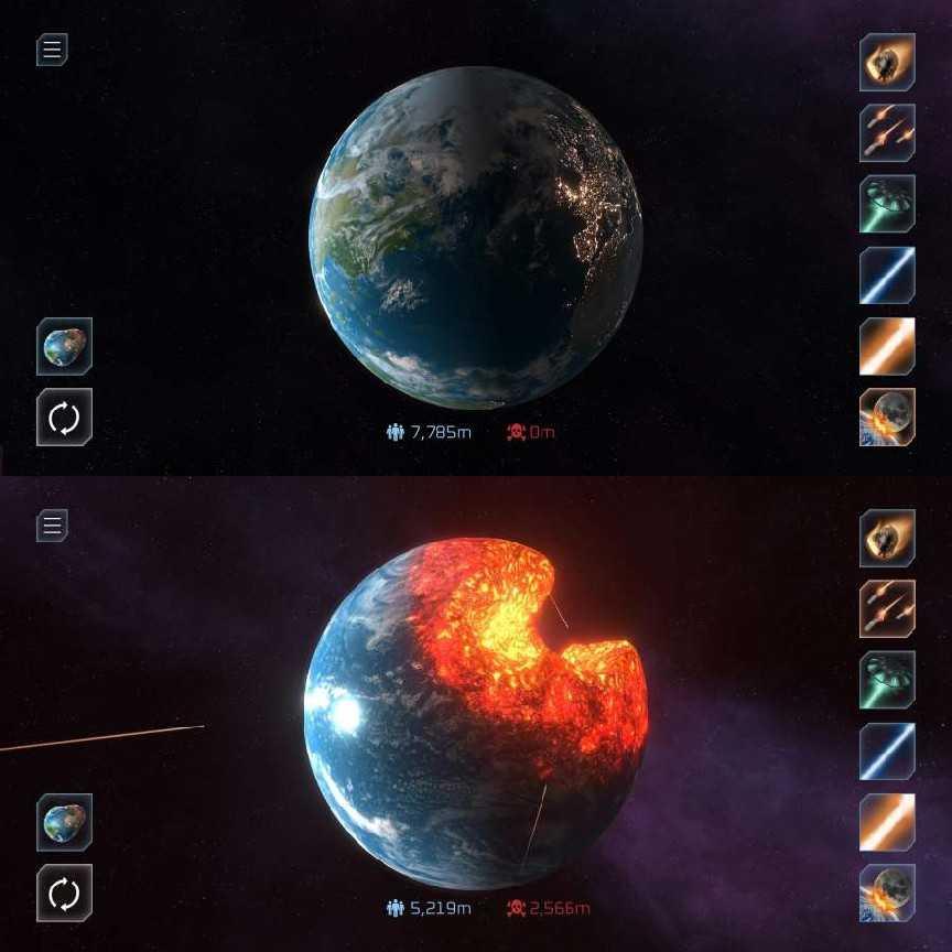 星球毁灭模机器Solar Smash